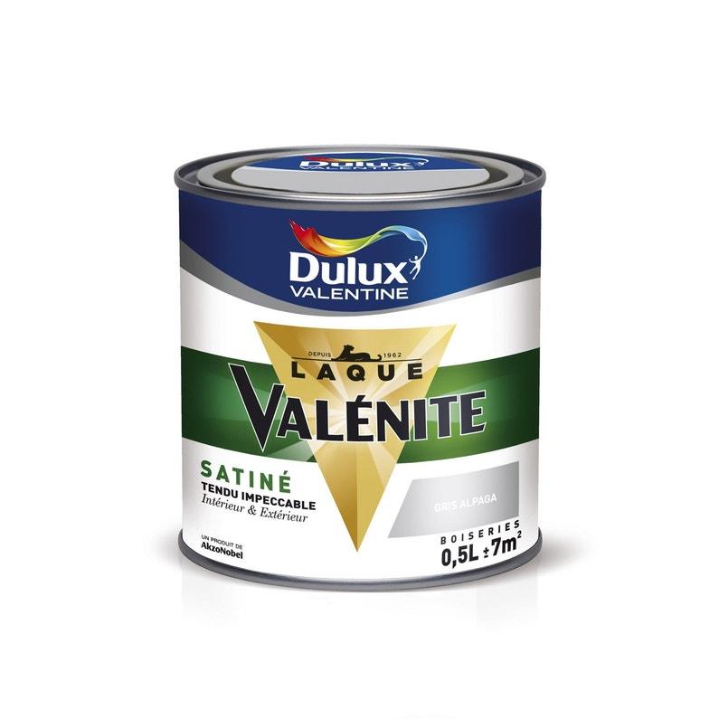 Peinture Boiserie Valénite Dulux Valentine Blanc 05 L Satin