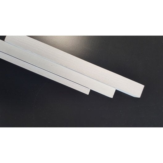 Tasseau raboté sapin sans nœud prépeint blanc 34x34mm  L 2.40m