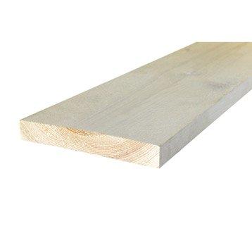 Planche vieillie blanchie 195x30mm L 2.50m