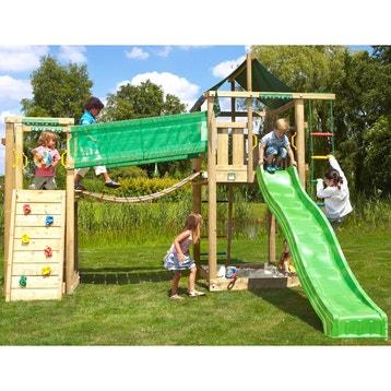 53f6ea33a4218 cool aire de jeux bois lodge bridge trigano h cm with aire de jeux extrieur  occasion