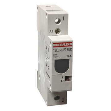 Télérupteur unipolaire DEBFLEX 16 A