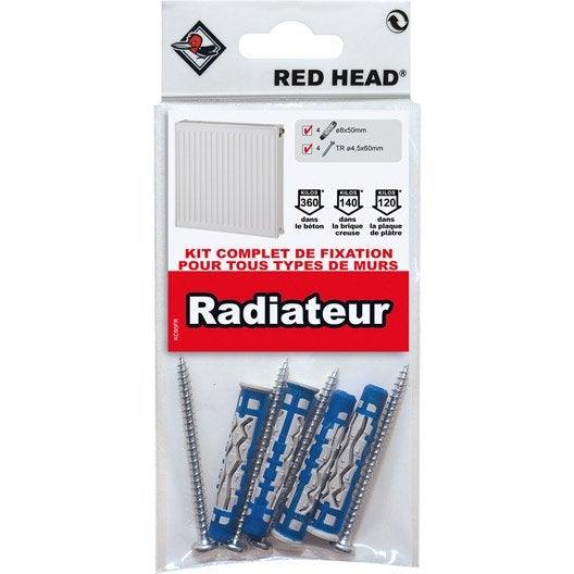Kit de fixation au sol pour radiateur kit radiateur eau chaude leroy merlin - Radiateur a eau leroy merlin ...