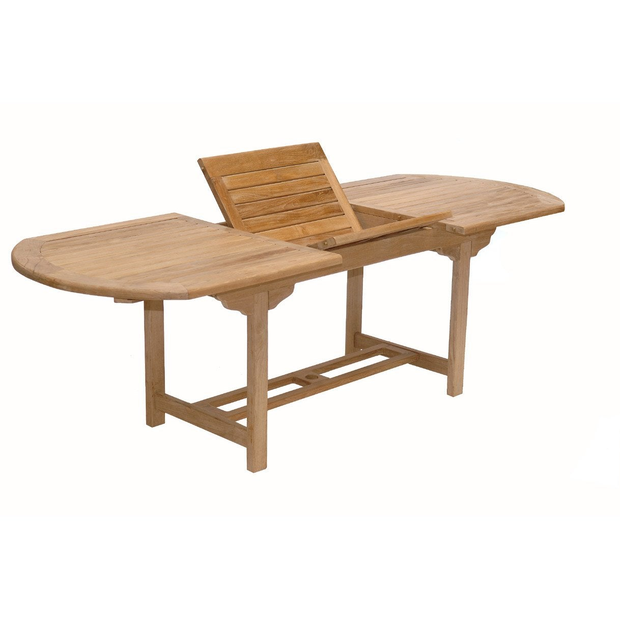 Table de jardin azur ovale naturel 8 personnes leroy merlin for Table ovale 10 personnes