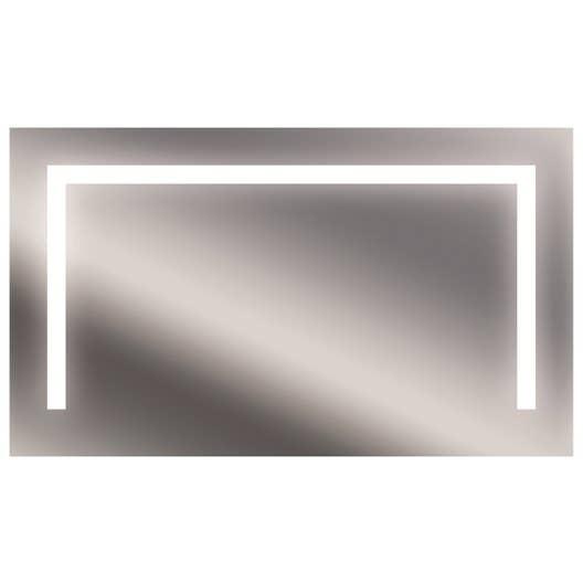 miroir lumineux avec clairage int gr x cm bridge leroy merlin. Black Bedroom Furniture Sets. Home Design Ideas