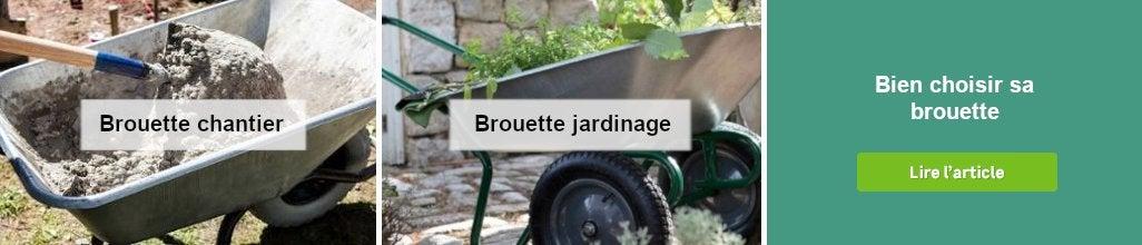 Brouette Au Meilleur Prix Leroy Merlin