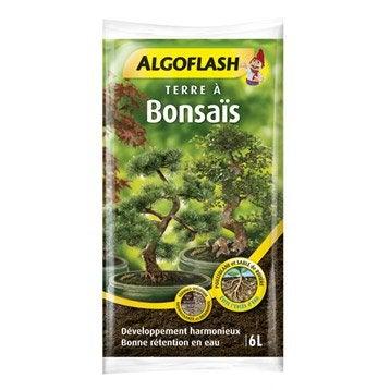 Terreau bonsaï ALGOFLASH, 6 l