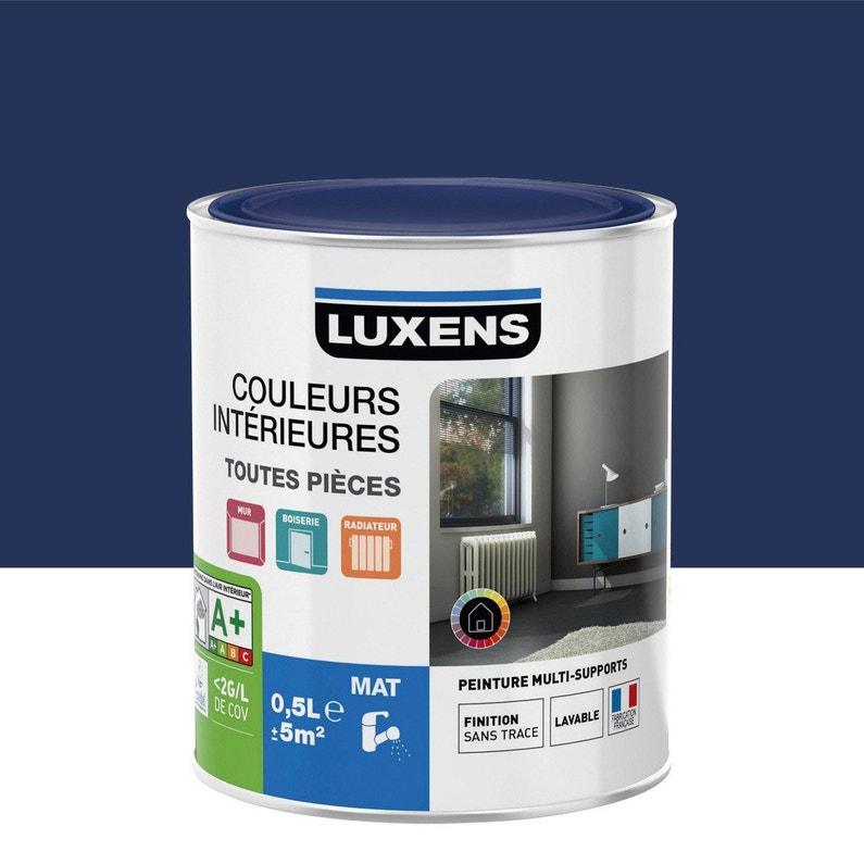 Peinture Bleu Bleu 1 Mat Luxens Couleurs Intérieures Mat 05 L