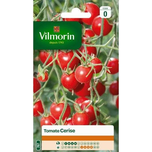 tomate cerise vilmorin 0 2 g leroy merlin. Black Bedroom Furniture Sets. Home Design Ideas