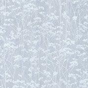 Papier peint foret bleu irisé intissé sherwood