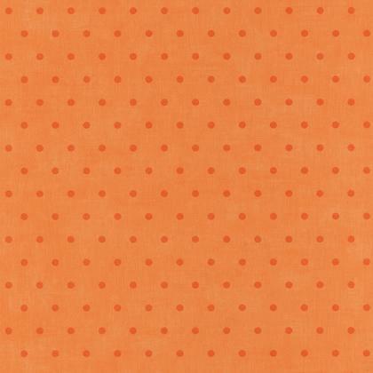 Papier peint intissé BON APPETIT Pois orange