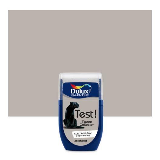 Testeur peinture taupe collector mat dulux valentine color - Dulux valentine color resist ...