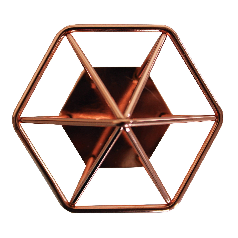 Crochet 1 tête cuivre Steel