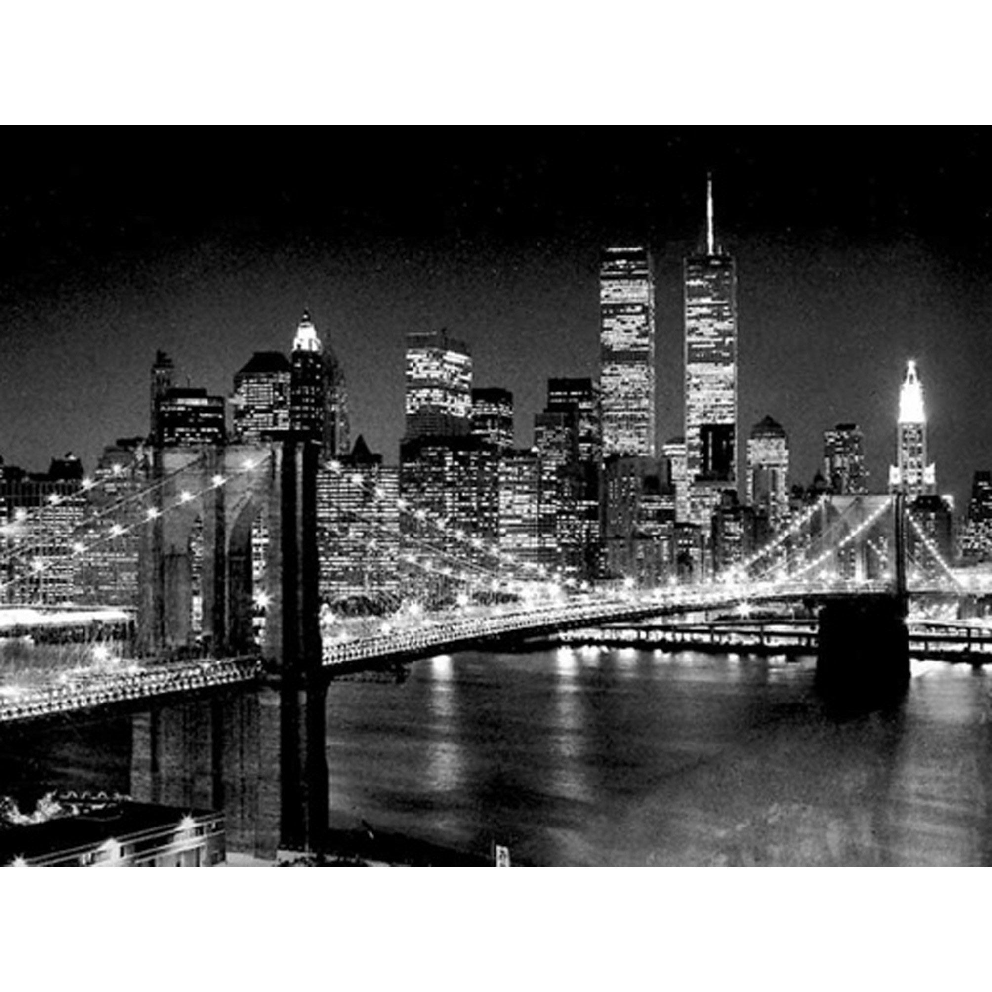 Affiche Brooklyn bridge l.80 x H.60 cm