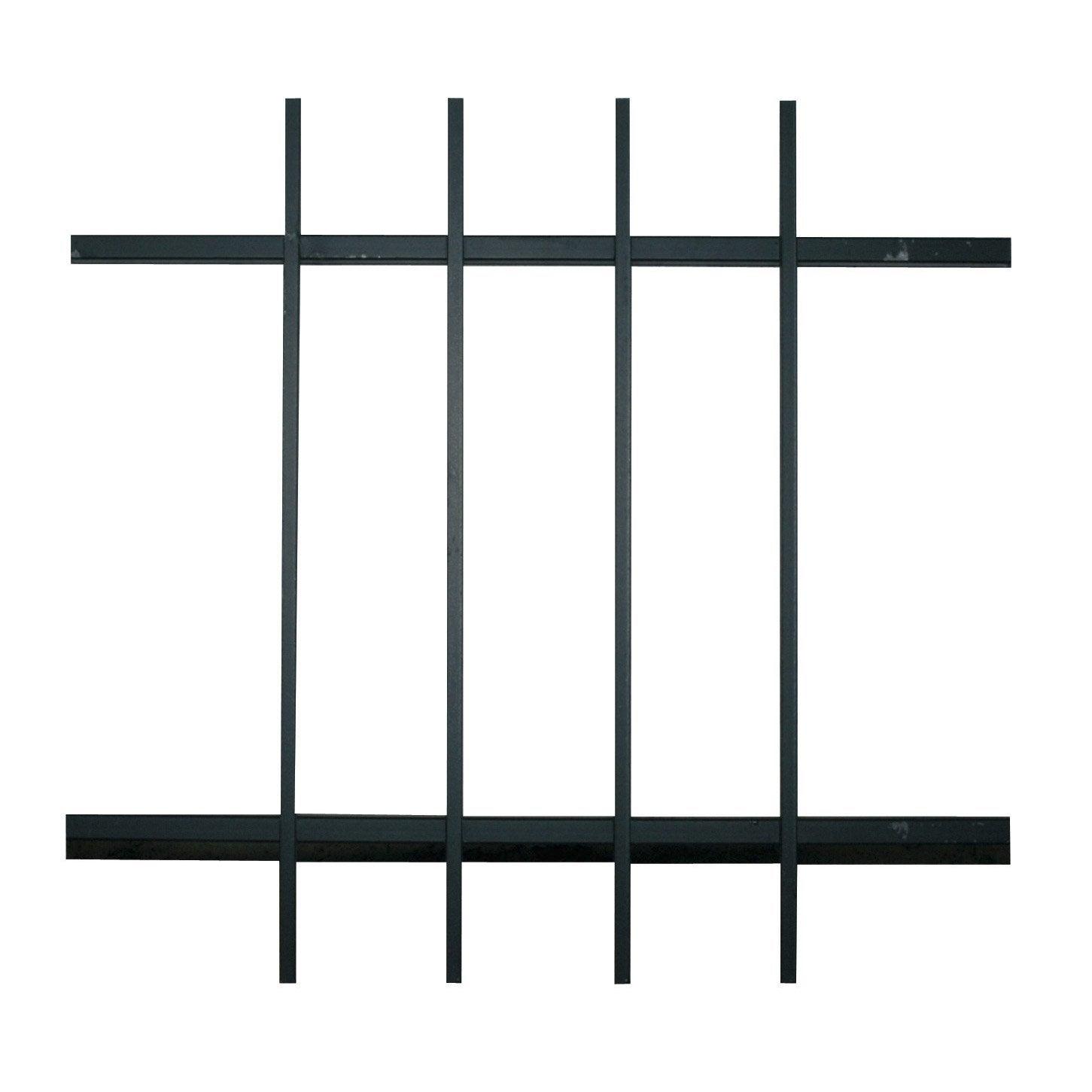 grille de d fense pour fen tre eco x cm leroy merlin. Black Bedroom Furniture Sets. Home Design Ideas