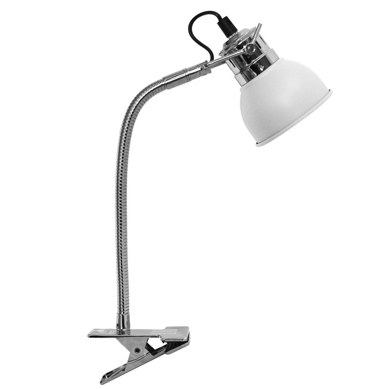 Lampe De Bureau Gu10 à Pince Blanc Neoma