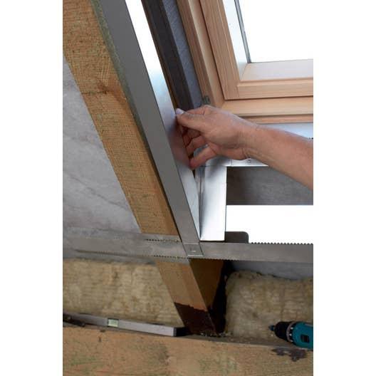 Kit d\'habillage pour fenêtre de toit VELUX Lsg uk08 1000   Leroy Merlin