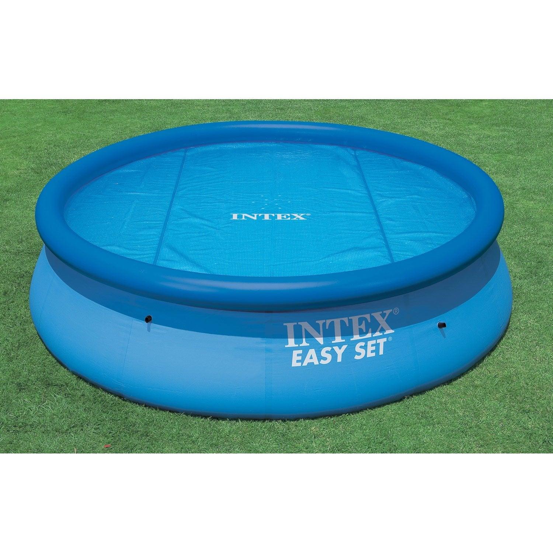 b che bulle intex pour piscine 2m44 diam 206 cm leroy merlin. Black Bedroom Furniture Sets. Home Design Ideas