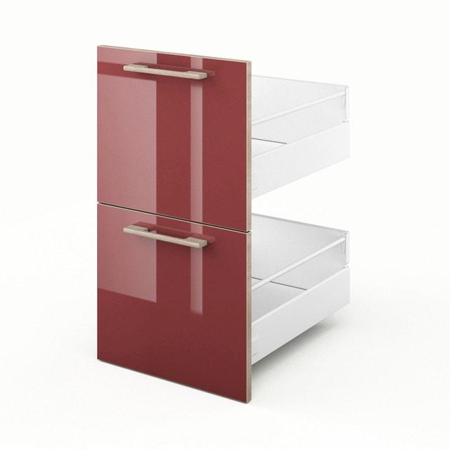 un tiroir coulissant avec beaucoup de place leroy merlin. Black Bedroom Furniture Sets. Home Design Ideas