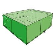 Housse de protection pour mobilier grande dimension QUATTRO L.70 x l.160 x H.160