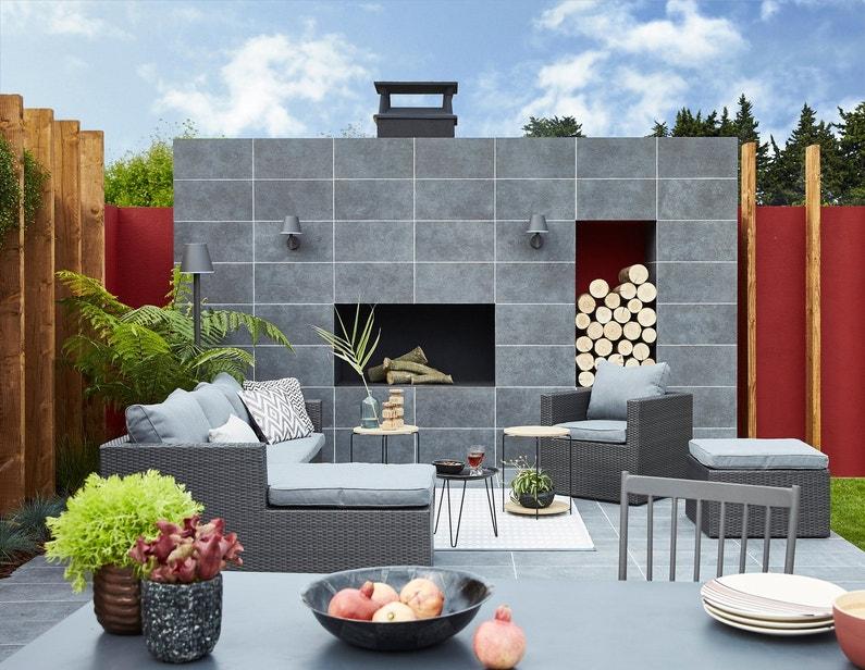Une terrasse chic et tendance gr ce un carrelage for Carrelage ypres