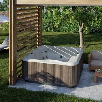 spa bain nordique en bois au meilleur prix leroy merlin. Black Bedroom Furniture Sets. Home Design Ideas