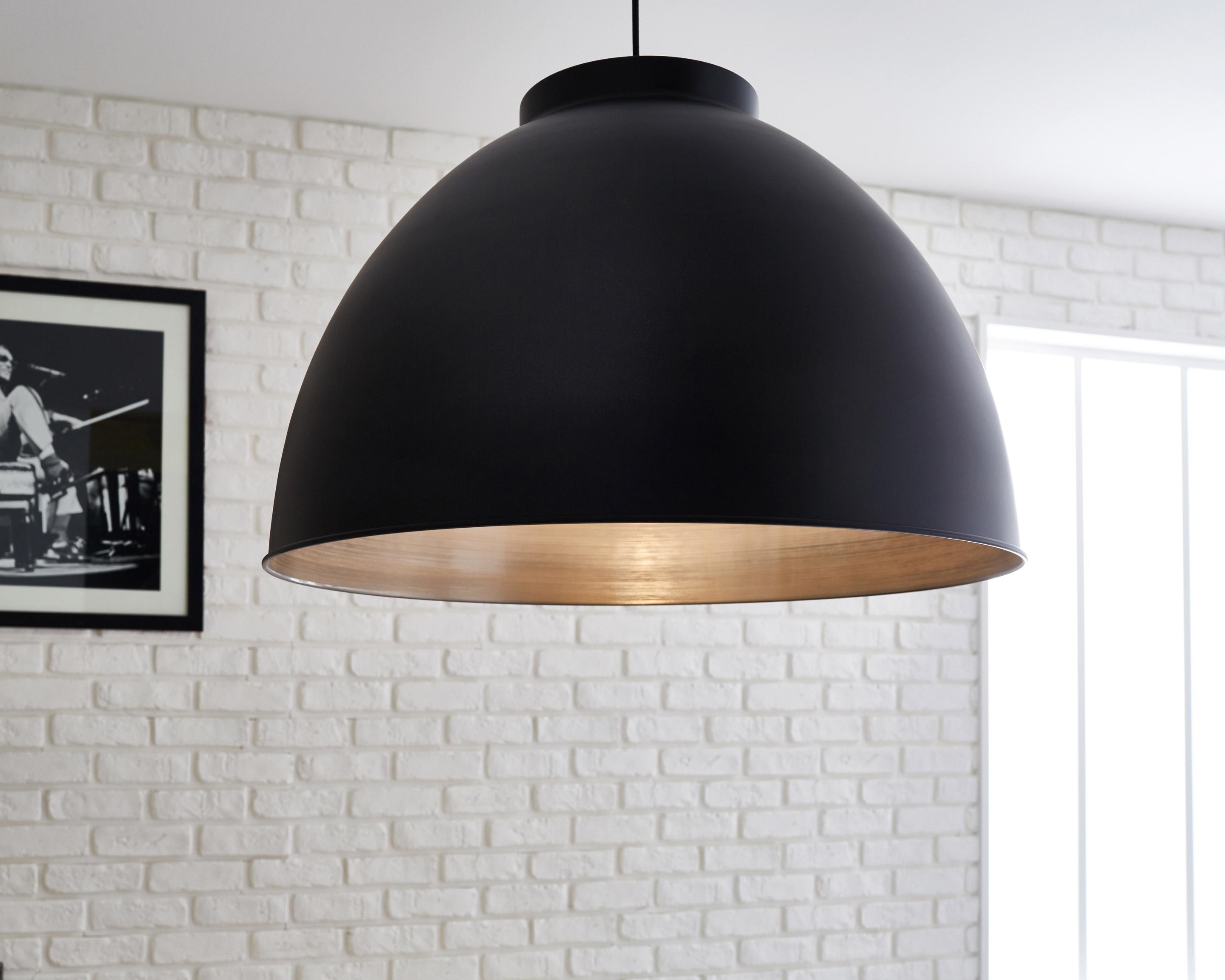 Suspension, e27 style industriel Dock métal noir mat 1 x 60 W COREP