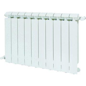 Radiateur chauffage central Klass blanc, l.64 cm, 1056 W
