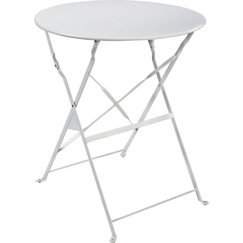 Best Table De Jardin Blanc Ronde Pictures - House Design ...