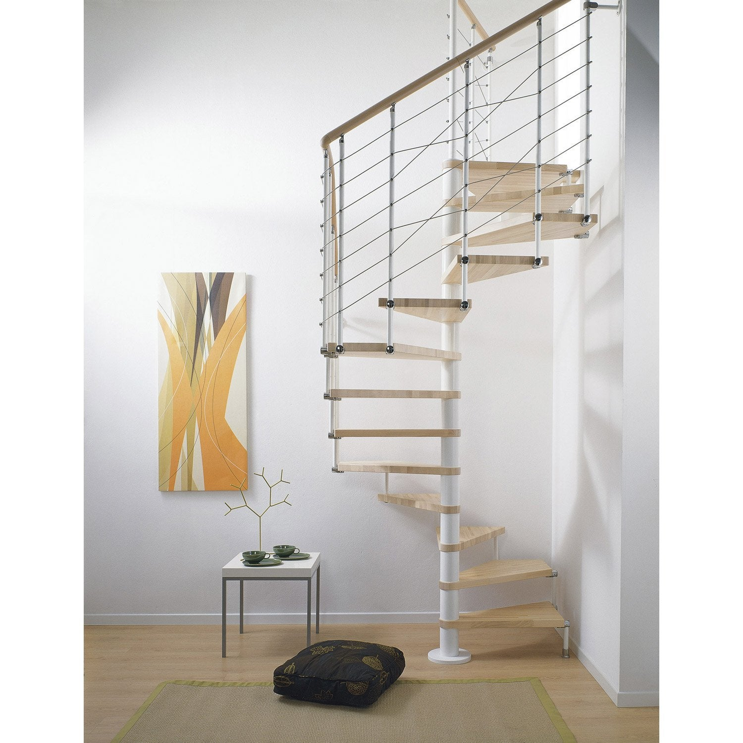 escalier colima on carr cubeline structure m tal marche bois leroy merlin. Black Bedroom Furniture Sets. Home Design Ideas