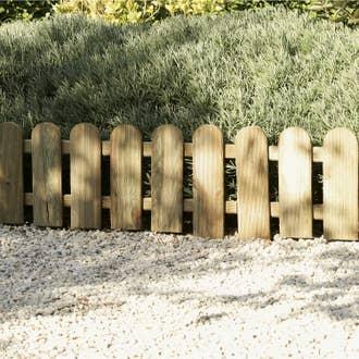 Bordure à dérouler bois marron, H.20 x L.120 cm | Leroy Merlin