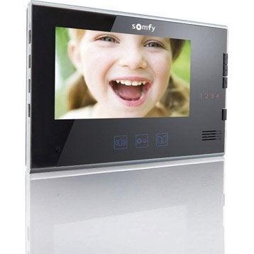 Ecran supplémentaire filaire SOMFY V250 v400 v600 noir
