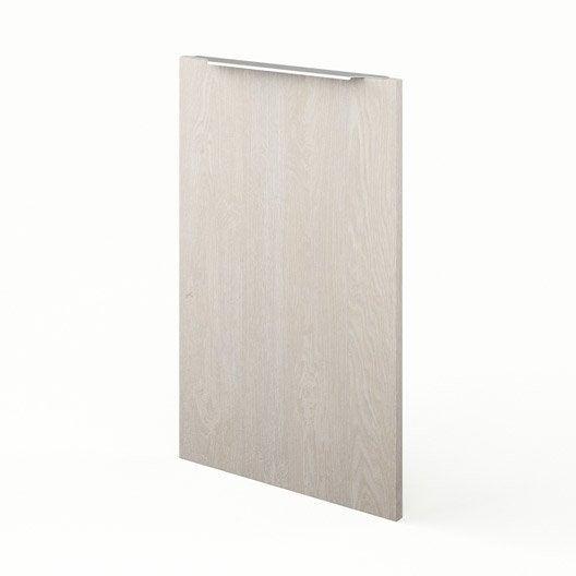 Porte de cuisine d cor bois f45 nordik x cm for Porte 70 cm largeur