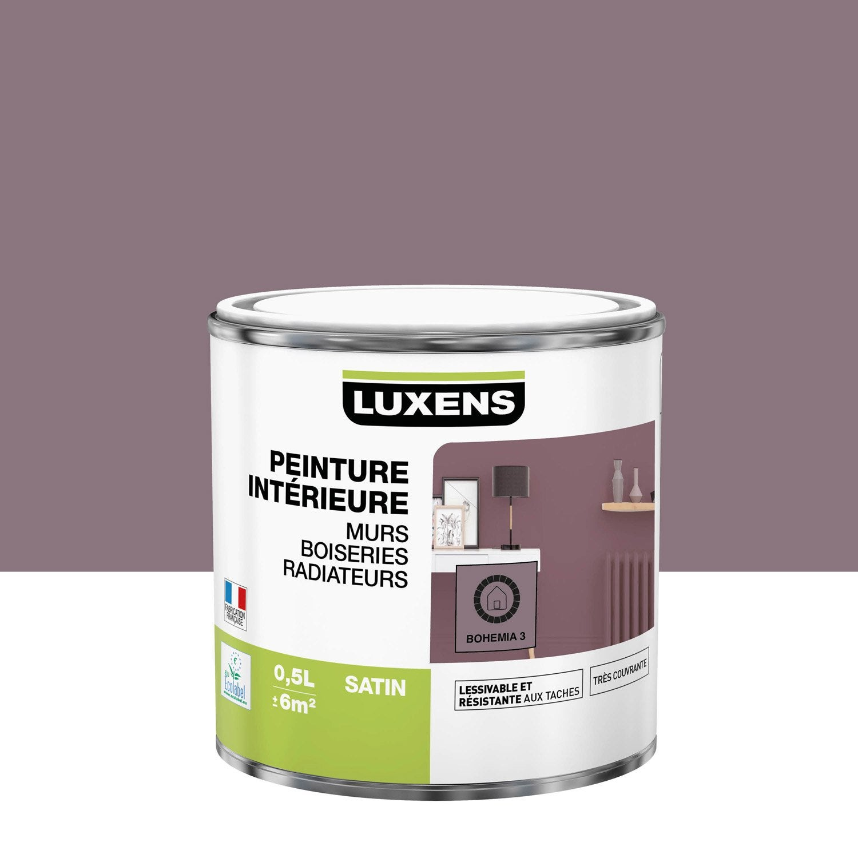 Peinture mur, boiserie, radiateur Multisupports LUXENS, bohemia 3, 0.5 l, satin