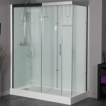 Cabine de douche - Salle de bains au meilleur prix   Leroy Merlin