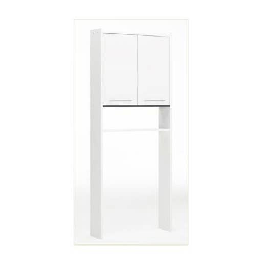 La Salle De Bain D'Eden Fermeture ~ Meuble Pour Wc Poser L 60 0 X H 182 0 X P 16 Cm Blanc Nerea