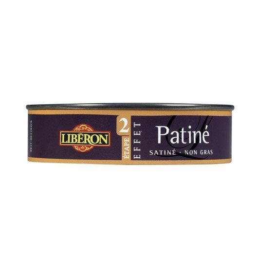 Cire à effet Patiné LIBERON, or riche, 0.15 l