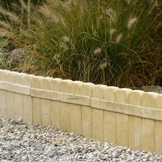 Bordure de jardin bois b ton plastique pierre acier ardoise pierre reconstitu e au - Bordure beton de jardin ...
