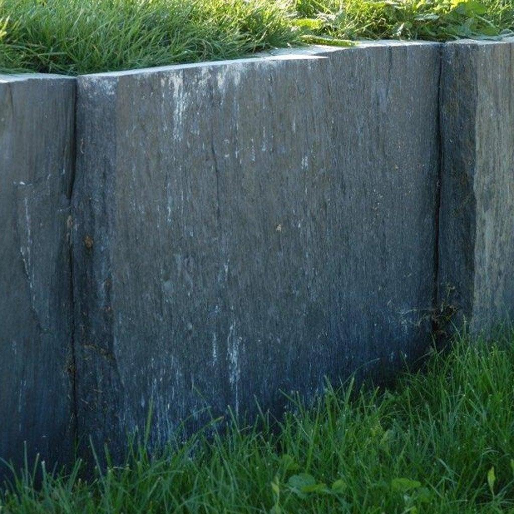 Palis droite ardoise noir x cm leroy merlin - Comment enlever des traces noires sur un mur exterieur ...