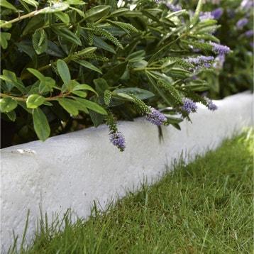 Bordure de jardin bordure b ton bois pierre ardoise for Leroy merlin bordure jardin