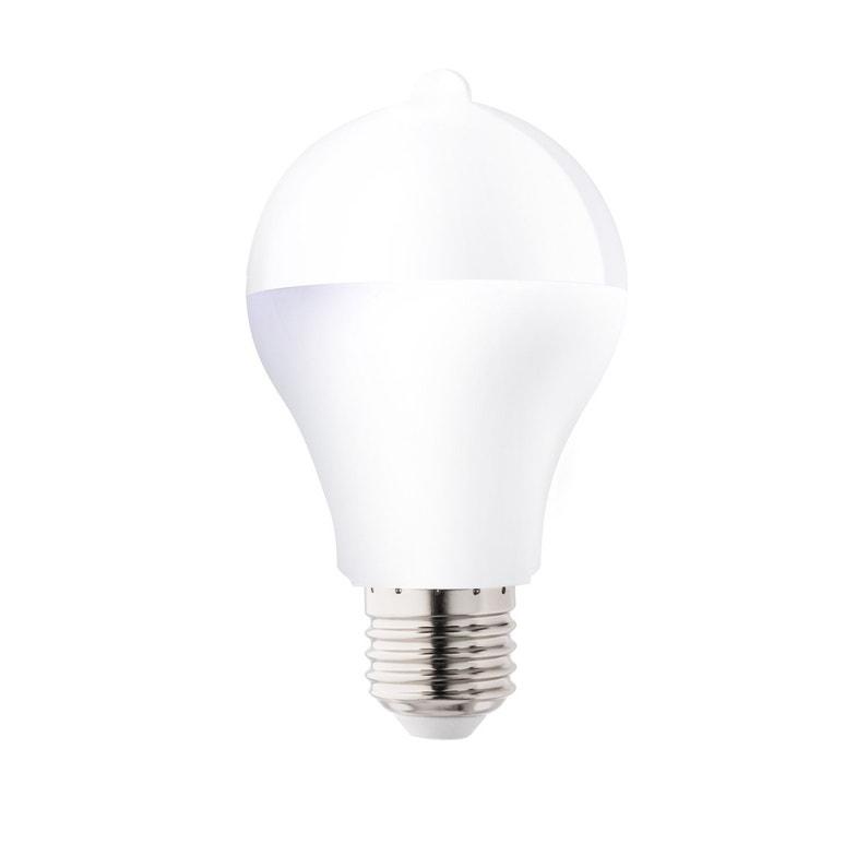 Ampoule Led à Détection Crépusculaire E27 10w 1100lm équiv 75w 3000k Lexman