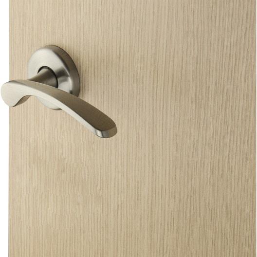 2 poign es sur rosace eva inspire laiton mat sans trou. Black Bedroom Furniture Sets. Home Design Ideas