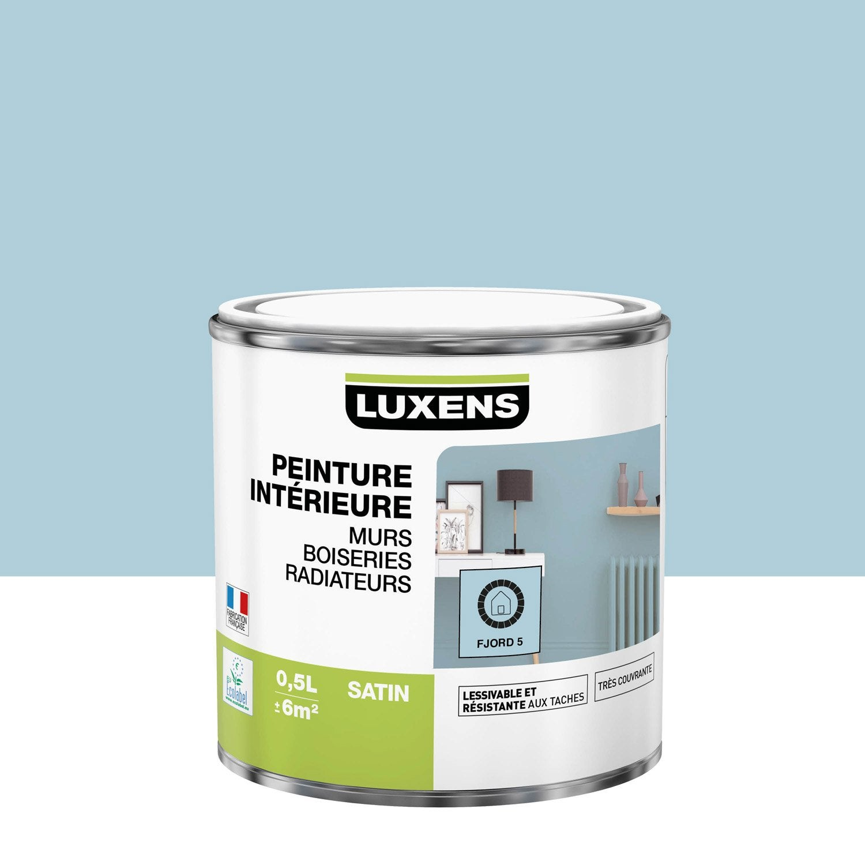 Peinture mur, boiserie, radiateur toutes pièces Multisupports LUXENS, fjord 5, s