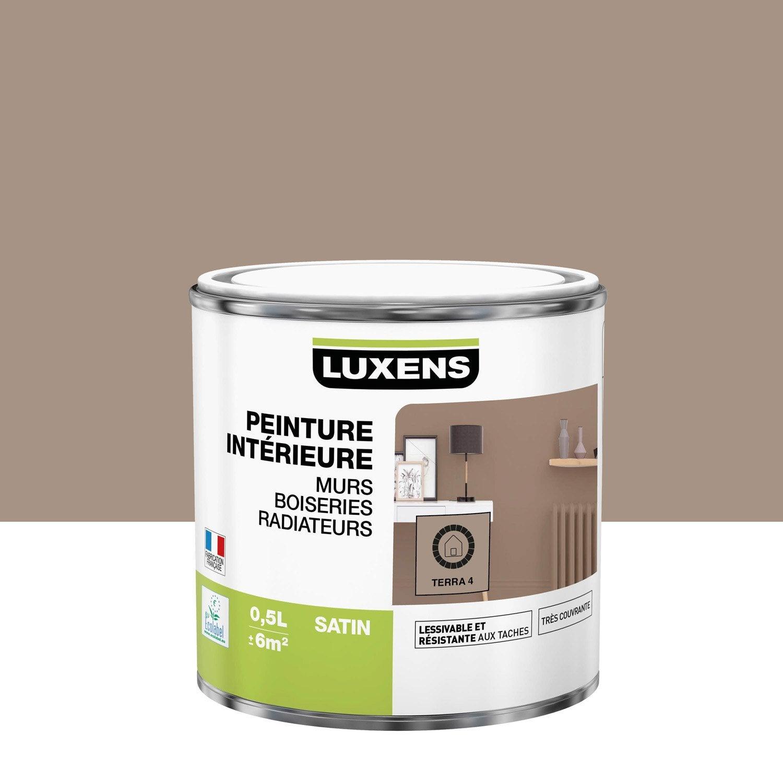 Peinture mur, boiserie, radiateur toutes pièces Multisupports LUXENS, terra 4, s
