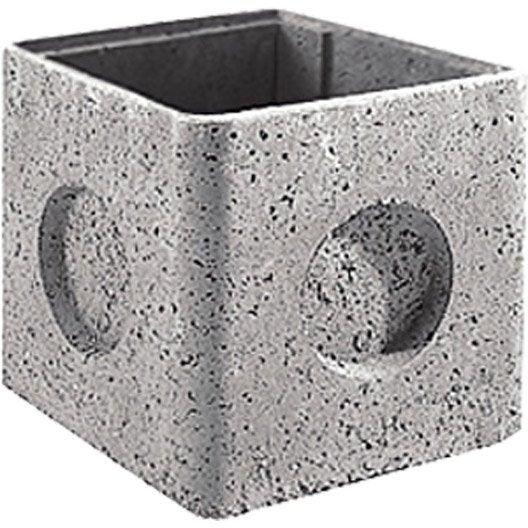Regard avec embo tement rm50 b ton x mm for Rehausse beton 50x50 castorama