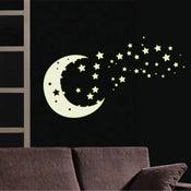 Sticker Clair de lune 50 cm x 70 cm
