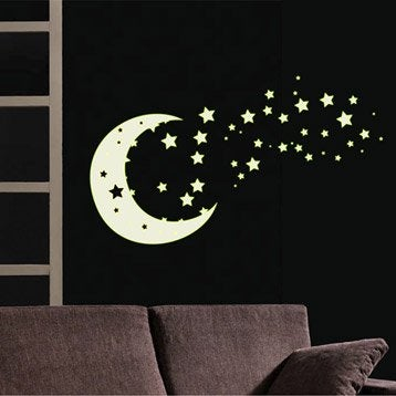 Sticker Clair de lune 50 cm x 70 cm