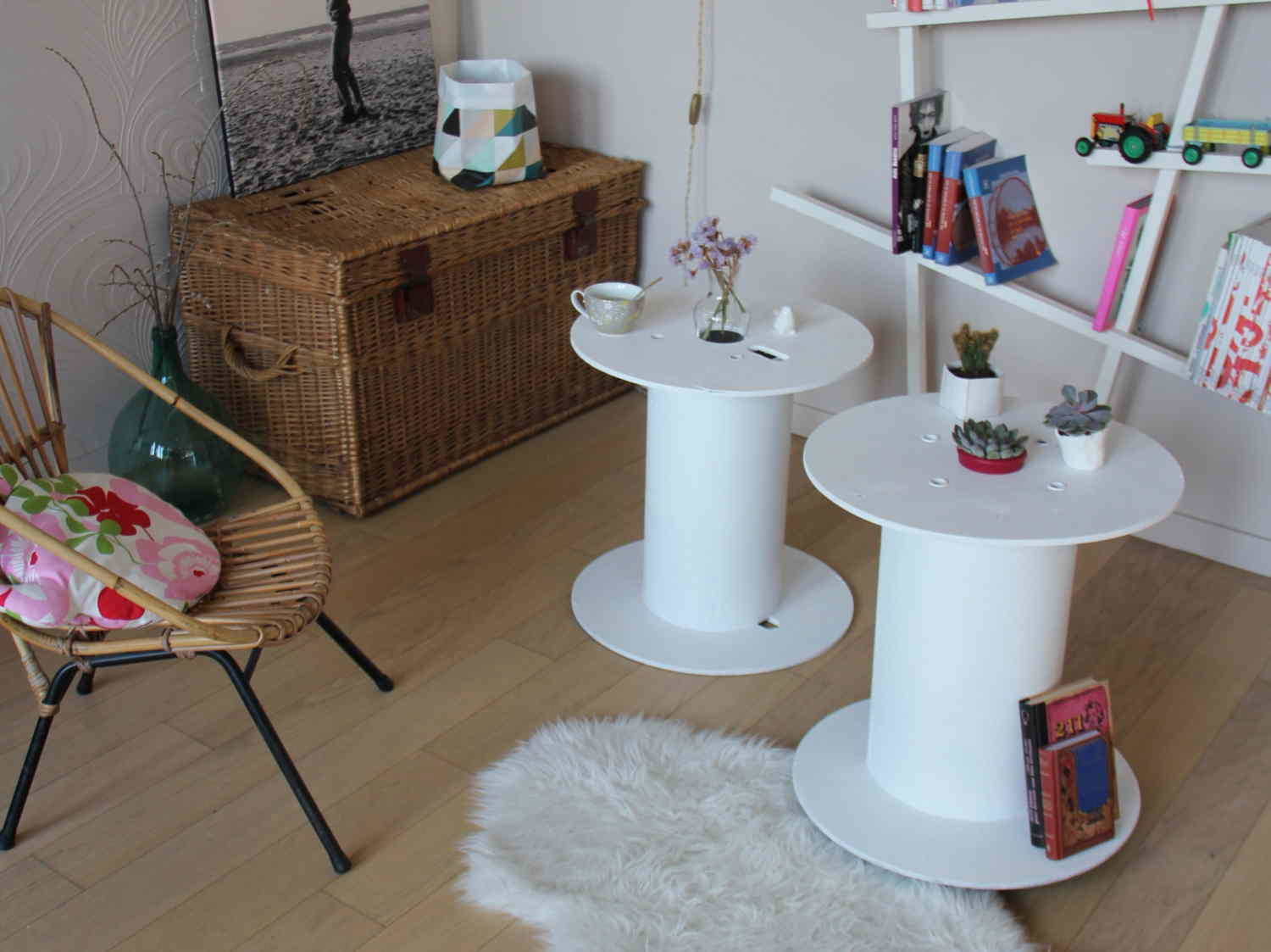 diy : fabriquer une table basse design | leroy merlin