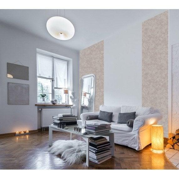 Papier peint papier Coloria taupe 150g/m²
