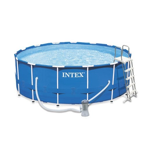 Piscine hors sol autoportante tubulaire metal frame intex for Piscine intex tubulaire en solde
