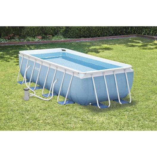 Piscine hors sol piscine bois gonflable tubulaire for Piscine hors sol intex 5 49